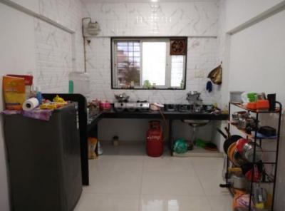 Kitchen Image of Girls PG in Wakad