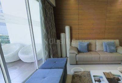 Gallery Cover Image of 1050 Sq.ft 1 BHK Apartment for rent in Alcon Renaissant Kharadi, Kharadi for 27000