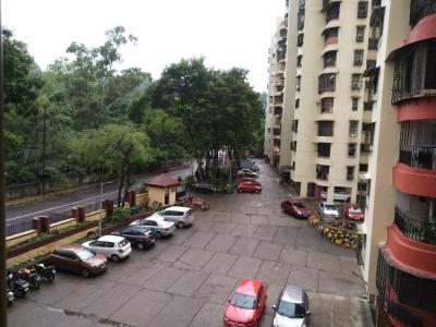 Gallery Cover Image of 700 Sq.ft 1 BHK Apartment for rent in Lok Gaurav Complex, Vikhroli West for 31000