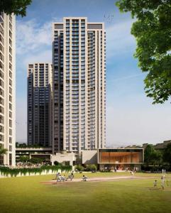 Gallery Cover Image of 1400 Sq.ft 3 BHK Apartment for buy in Thane West for 16500000