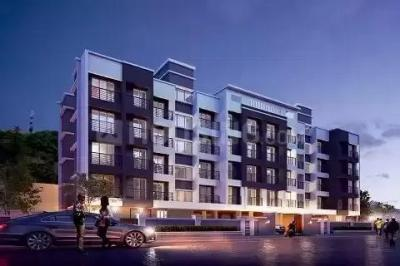 Gallery Cover Image of 615 Sq.ft 1 BHK Apartment for buy in Sanveg Hills, Badlapur West for 2550000