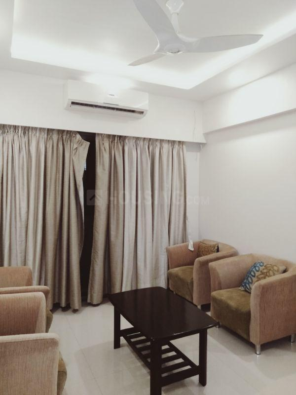 Living Room Image of 1500 Sq.ft 3 BHK Apartment for rent in Parel for 120000