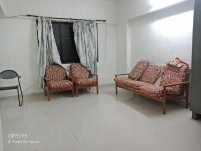 Gallery Cover Image of 1200 Sq.ft 2 BHK Apartment for rent in Pimple Nilakh for 19500