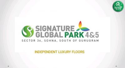 Gallery Cover Image of 845 Sq.ft 2 BHK Independent Floor for buy in Signature Global Park, Sector 36 Sohna for 4480583