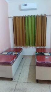 साउथ  एक्सटेंशन आई में गगन पीजी के बेडरूम की तस्वीर