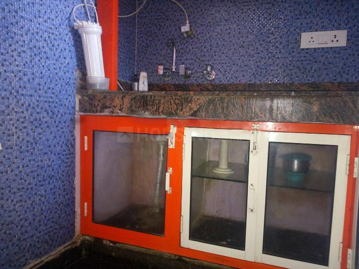 Kitchen Image of 570 Sq.ft 1 BHK Independent Floor for rent in Sector 56 for 16500