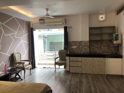 Gallery Cover Image of 600 Sq.ft 1 RK Independent Floor for rent in Hauz Khas for 32500