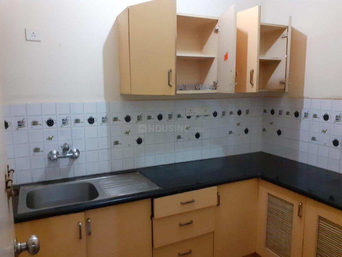 Kitchen Image of 300 Sq.ft 1 RK Villa for rent in Electronic City for 8500