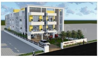 Gallery Cover Image of 742 Sq.ft 2 BHK Apartment for buy in Kattupakkam for 4229400