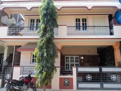 Gallery Cover Image of 650 Sq.ft 1 BHK Independent House for rent in Murugeshpalya for 10000