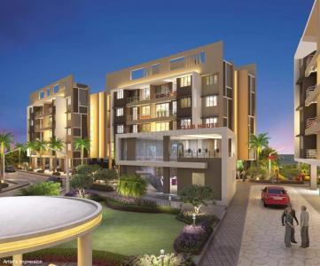 Gallery Cover Image of 640 Sq.ft 1 BHK Apartment for buy in Kamdhenu Gardenia, Taloja for 3345000