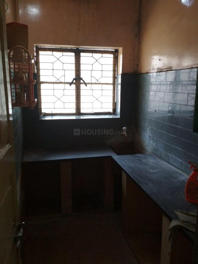 Kitchen Image of 1200 Sq.ft 2 BHK Independent Floor for rent in Garia for 18000