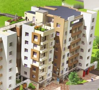 Gallery Cover Image of 1196 Sq.ft 3 BHK Apartment for buy in Orchid Gangour Residency, Keshtopur for 3887000