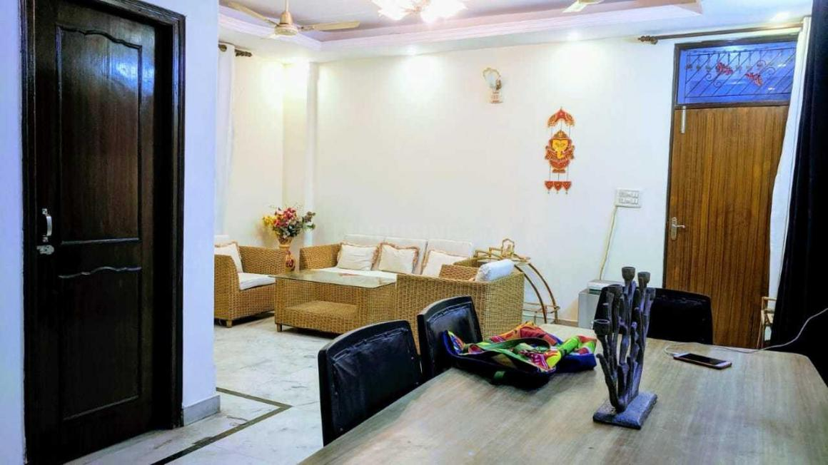 Living Room Image of 1450 Sq.ft 3 BHK Independent Floor for rent in Vaishali for 21000