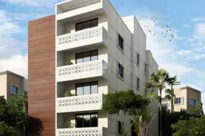 Gallery Cover Image of 650 Sq.ft 1 BHK Apartment for rent in Murugeshpalya for 13000