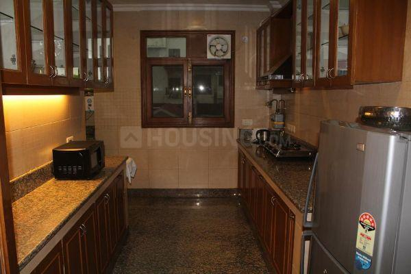 Kitchen Image of 750 Sq.ft 1 BHK Apartment for rent in Sector 10 Dwarka for 20000