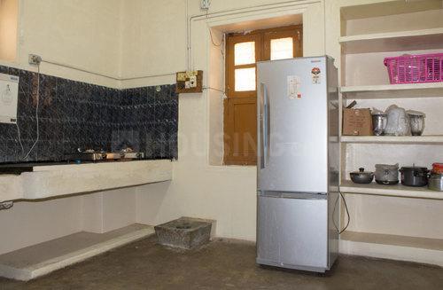 मल्लेस्वरम में पद्मावथी नेस्ट के किचन की तस्वीर