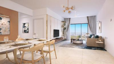 Gallery Cover Image of 1200 Sq.ft 2 BHK Apartment for buy in Shapoorji Pallonji BKC 28, Bandra East for 19900000