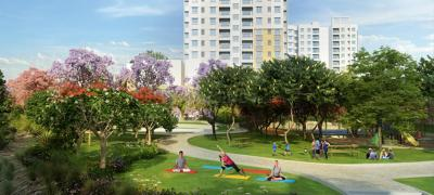 Gallery Cover Image of 605 Sq.ft 1 BHK Apartment for buy in Salarpuria Sattva Misty Charm, Vajarahalli for 3500000