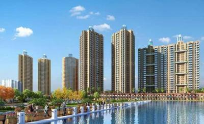 Gallery Cover Image of 1261 Sq.ft 3 BHK Apartment for buy in Orovia Phase 1, Thane West for 13800000