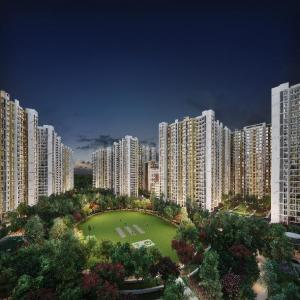 Gallery Cover Image of 550 Sq.ft 1 BHK Apartment for buy in Runwal Gardens, Dombivli East for 2999000