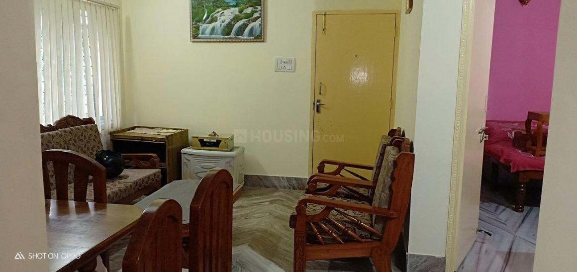 Living Room Image of 1200 Sq.ft 2 BHK Apartment for rent in Andul for 20000