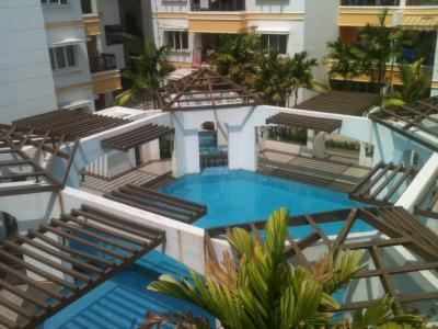 Gallery Cover Image of 2500 Sq.ft 3 BHK Apartment for rent in Lancor The Atrium, Thiruvanmiyur for 65000