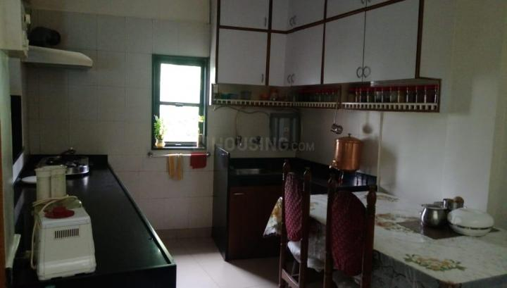 Kitchen Image of 700 Sq.ft 1 BHK Apartment for rent in Shukrawar Peth for 22000