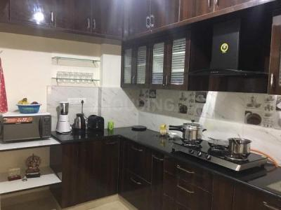 Kitchen Image of Slv Greens Apartments A-101 in Krishnarajapura