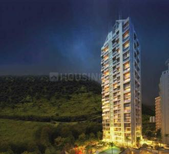 Gallery Cover Image of 1425 Sq.ft 3 BHK Apartment for rent in Concrete Sai Saakshaat, Kharghar for 38000