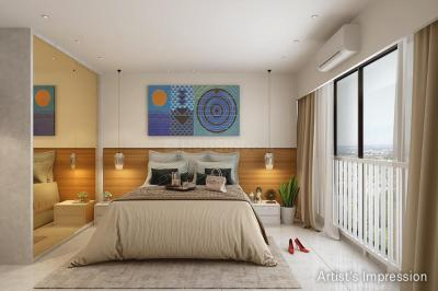 Gallery Cover Image of 946 Sq.ft 2 BHK Apartment for buy in Dynamix Divum, Goregaon East for 17200000