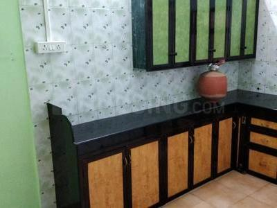 Kitchen Image of 575 Sq.ft 1 BHK Apartment for rent in Dombivli East for 12000