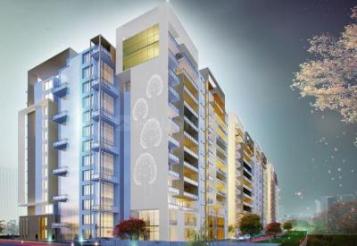Gallery Cover Image of 1434 Sq.ft 2 BHK Apartment for buy in Mahaveer Sitara, J P Nagar 7th Phase for 11500000