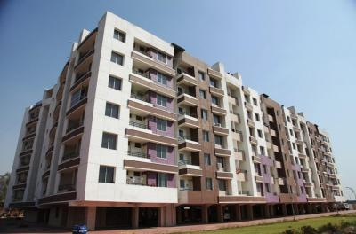 Gallery Cover Image of 600 Sq.ft 1 BHK Apartment for buy in Sarthak Singapore Nest, Lasudia Mori for 1121000