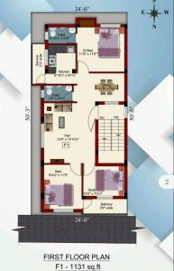 Gallery Cover Image of 1131 Sq.ft 2 BHK Independent Floor for buy in Ambattur for 6000000