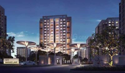 Gallery Cover Image of 837 Sq.ft 1 BHK Apartment for rent in Enerrgia Skyi Manas Lake Phase V, Bhugaon for 10000