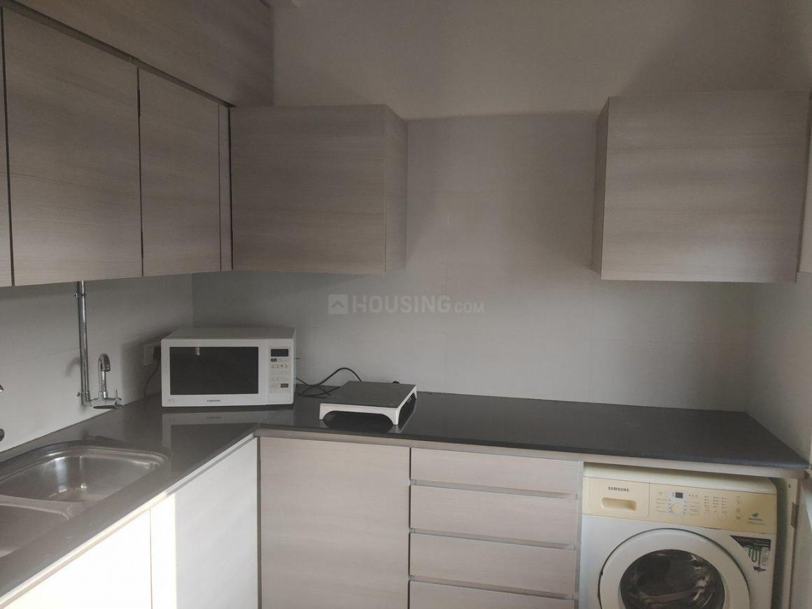 Kitchen Image of 725 Sq.ft 1 BHK Apartment for rent in Cumballa Hill for 100000