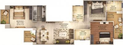 Gallery Cover Image of 1250 Sq.ft 3 BHK Independent Floor for buy in Signature Global City 37D, Sector 37D for 7446000