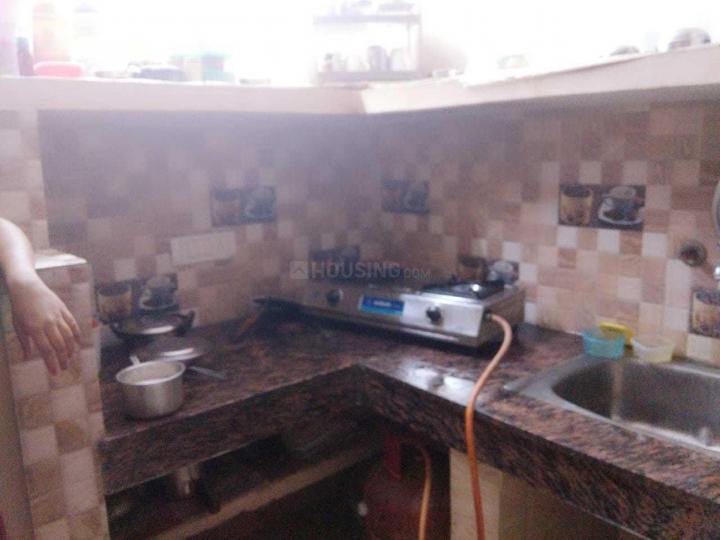 श्री नारायण पीजी फॉर गर्ल्स इन लक्ष्मी नगर के किचन की तस्वीर