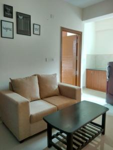 Gallery Cover Image of 650 Sq.ft 1 BHK Apartment for rent in Murugeshpalya for 20500