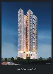 Gallery Cover Image of 630 Sq.ft 2 BHK Apartment for buy in Runwal Pinnacle, Bhandup West for 13200000