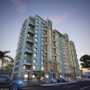 Gallery Cover Image of 1040 Sq.ft 2 BHK Apartment for buy in Nyati Enchante III, Wadgaon Sheri for 9700000