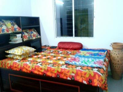 न्यू टाउन में न्यूटाउन आनंदम पीजी में बेडरूम की तस्वीर
