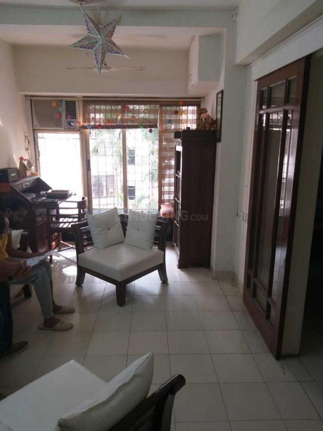 Living Room Image of 700 Sq.ft 1 BHK Apartment for rent in Andheri West for 40000