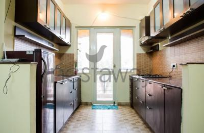 Kitchen Image of 403 Mak Park View in Bellandur