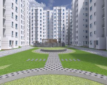 Gallery Cover Image of 654 Sq.ft 2 BHK Apartment for buy in Kogilu for 3383600