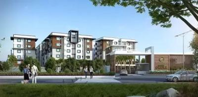 Gallery Cover Image of 1312 Sq.ft 2 BHK Apartment for buy in Fortune Green Golden Oriole, Puppalaguda for 9000000