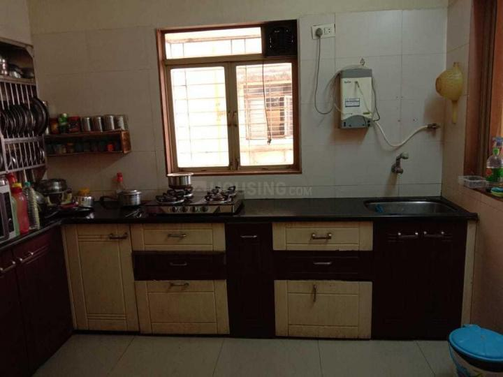 Kitchen Image of 750 Sq.ft 1 BHK Apartment for rent in Kharghar for 18000