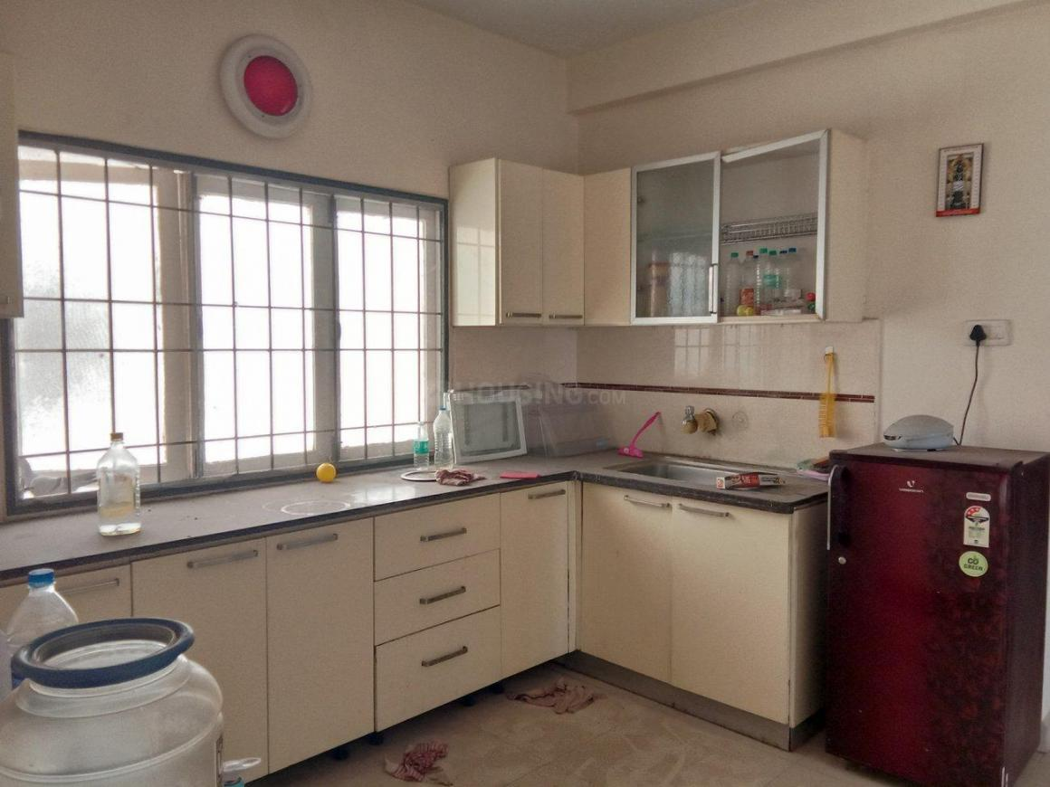Kitchen Image of 1350 Sq.ft 3 BHK Apartment for rent in Thoraipakkam for 25000