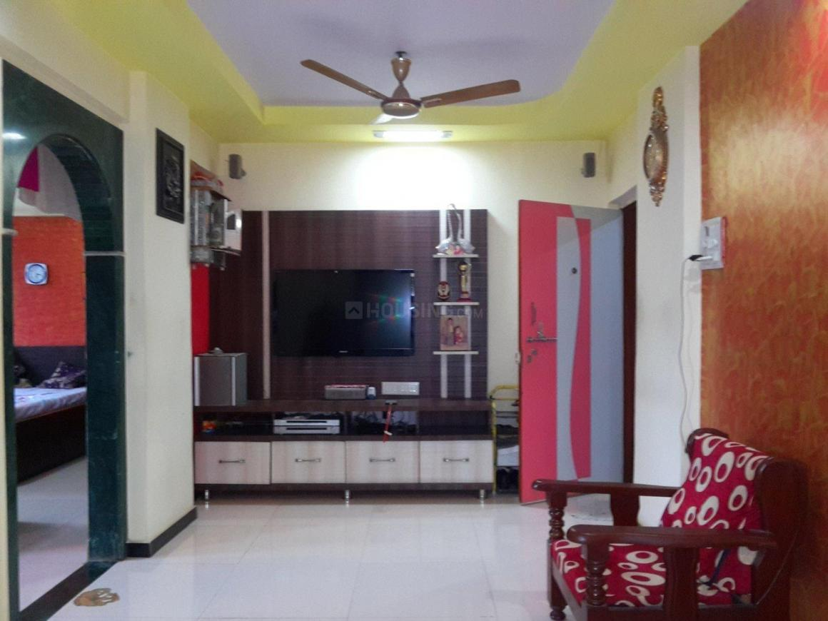 Living Room Image of 598 Sq.ft 1 BHK Apartment for buy in Kalwa for 4800000